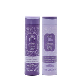 Trissola Chia Volumizing Shampoo & Conditioner 8.4 Oz.