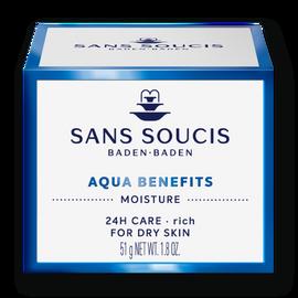 Sans Soucis Moisture Aqua Benefits 24-hr Care Rich 50 ml