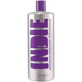 Indie Hair 1344 Cleansweep Shampoo and Body Wash 33.8 Oz.