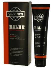 Agadir Men Balde Head SPF50 4 Oz.