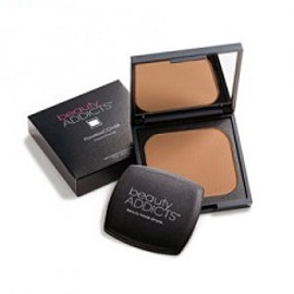 Beauty Addicts FlawlessCOVER Pressed Powder Deep