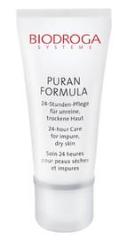 Biodroga Puran 24 Hour Care for impure dry skin 40 mL