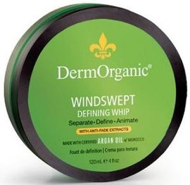 DermOrganic Windswept Defining Whip 4 Oz.