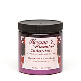 Keyano Cranberry Scrub 10 Oz.