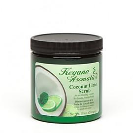 Keyano Coconut Lime Scrub 10 Oz.