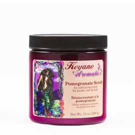 Keyano Pomegranate Scrub 10 Oz.