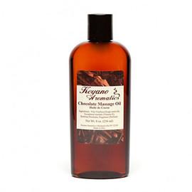Keyano Chocolate Massage Oil 8 Oz.
