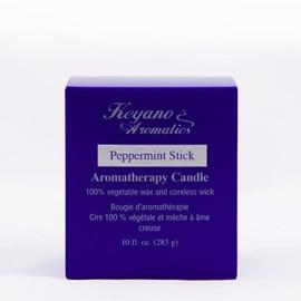 Keyano Peppermint Stick Candle 10 Oz.