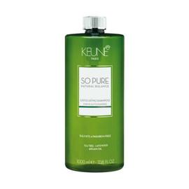 Keune So Pure Exfoliating Shampoo with pump 33.8 Oz. / 1L.