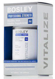 BosleyPro Healthy Hair Men's Supplements - 60 ct.