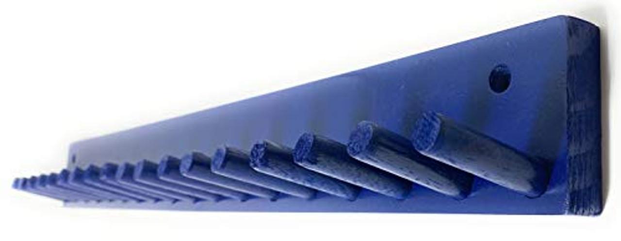 Mini Bat Rack Display Natural 9-17 Bats Collectible Bats Baseball Storage Wall Mount