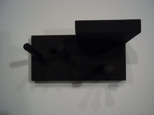 Full Size Baseball Combo Unit Bat Ball Glove Rack Display Black Wall Mount
