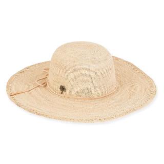 Natalie FINE RAFFIA HAT