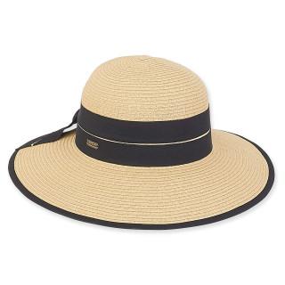 Maya Braid Floppy hat - Natural