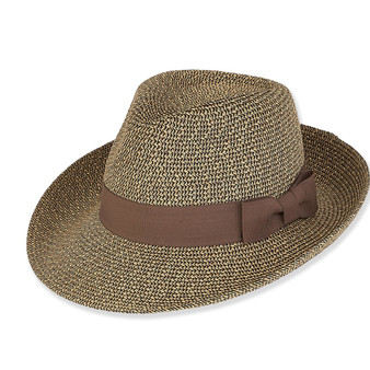 PAPER BRAID SAFARI HAT BRIM 3""
