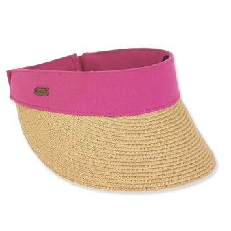 PAPER BRAID VISOR BRIM 3.5""