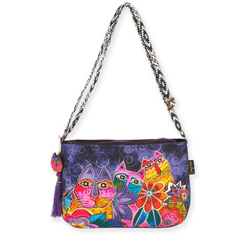 "LAUREL'S GARDEN  MEDIUM CROSSBODY | 15"" x 10"""