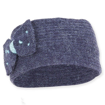 Knitted Headband | Blue