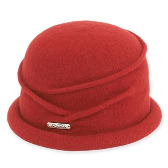 Soft Wool Cloche I Red