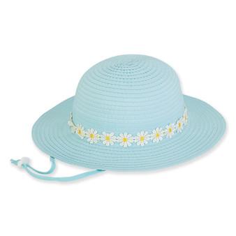 Magnolia | Young Girl Floppy Hat | Aqua