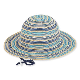 Amelie | Young Girl Floppy Hat | Blue