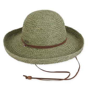 EMILY RAFFIA HAT