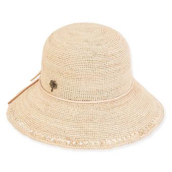 MADELYN FINE RAFFIA HAT