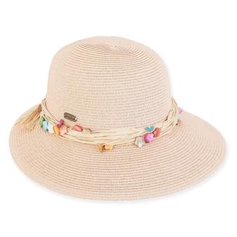MELANIE PAPERBRAID HAT
