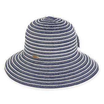 ELEANOR RIBBON HAT W/BOW