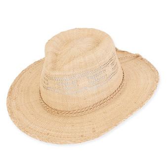 COLTON RAFFIA HAT