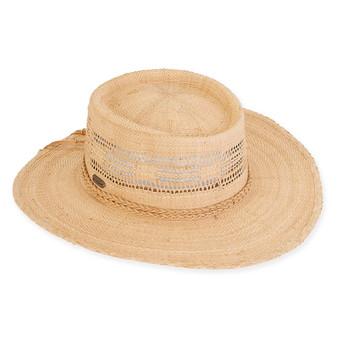 ASHER RAFFIA HAT
