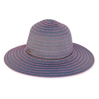 Victoria DENIM RIBBON HAT