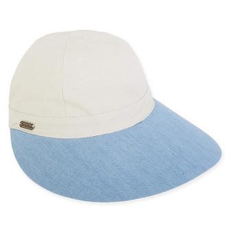 """GAVIN COTTON HAT, BRIM 4"""""""