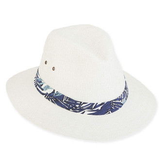 ALEX PAPER STRAW HAT BRIM 2.5""