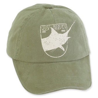 GUY HARVEY COTTON CAP WITH CLASSIC MARLIN SIGNATURE ICON
