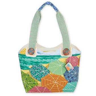 "SUNNYSIDE SMALL SCOOP TOTE | 13.5""x 4.5""x 8.5"""