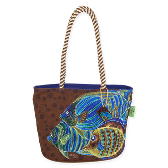 "AROUND & ABOUT N/S MEDIUM TOTE | 15"" x 6"" x 10"""