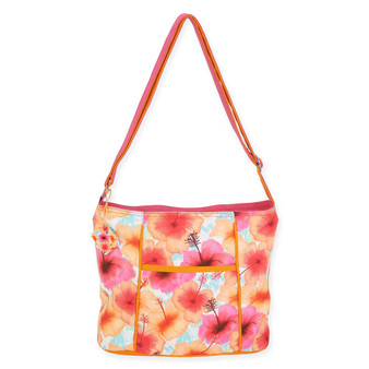 JOYFUL HIBISCUS N/S CROSSBODY