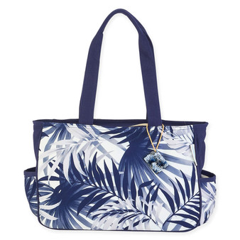 "FERN CASCADE E/W MEDIUM TOTE | 15"" x 4"" x 10"""