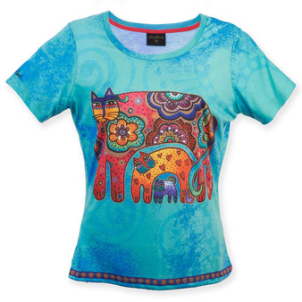 BOHEMIAN WHISKERS, TEAL T-SHIRT ($32.00-$37.00)