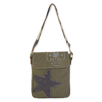 STAR FLAP OVER CROSSBODY