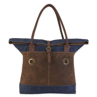 HADLEY ROLLED SHOULDER TOTE
