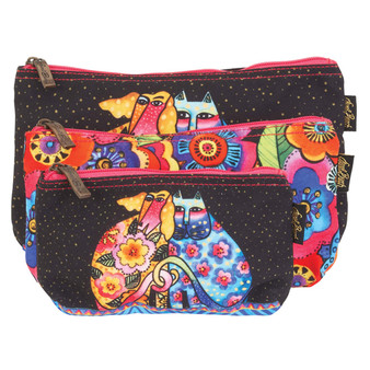 KINDRED FRIENDS - Set of 3 Cosmetic Bags