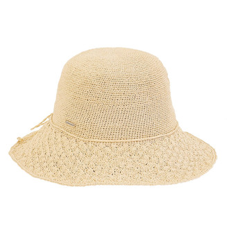 Filia Premium Paper Crochet Hat - Natural