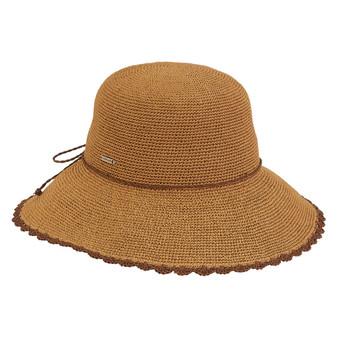 Millie Premium Paper Crochet Hat - Tan