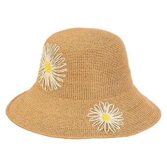 Meadows Premium Paper Crochet Hat - Tan