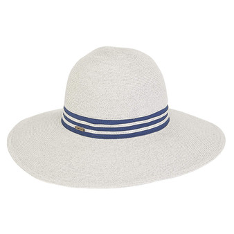 Serafina Premium Paper Crochet Hat - Grey