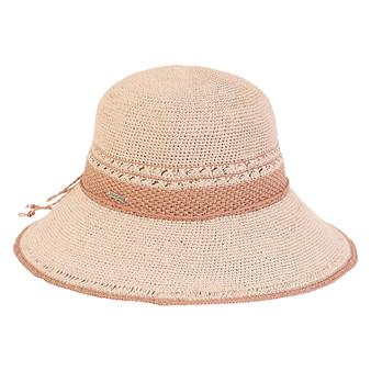 Zara Premium Paper Crochet Hat - Rose