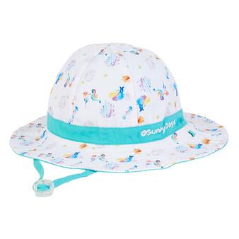 Alna | Reversible Cotton Hat - Outside