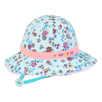 Samantha | Reversible Cotton Hat - Outside